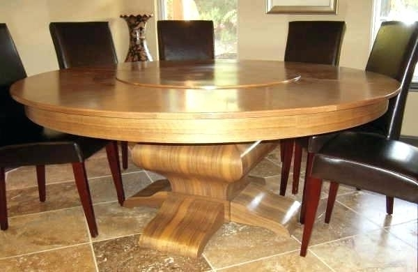 Huge Round Dining Tables Inside Best And Newest Big Round Dining Table Tables Large Seats Extra Designs Dini (Gallery 15 of 20)