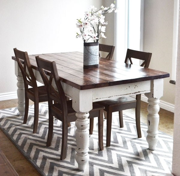 Husky Farmhouse Table – Diy Projects (View 3 of 20)