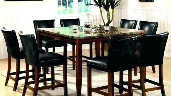 Hyland 5 Piece Counter Sets With Stools Within 2018 Table Pub Height Dining Tables Bar Kitchen Room And New Sets (Gallery 17 of 20)