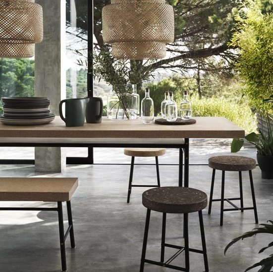 Ideal Home For Cork Dining Tables (Gallery 4 of 20)