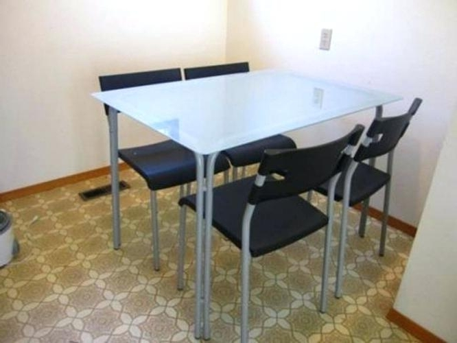 Ikea Glass Dining Table Set – Modern Computer Desk Cosmeticdentist Intended For Favorite Ikea Round Glass Top Dining Tables (Gallery 17 of 20)