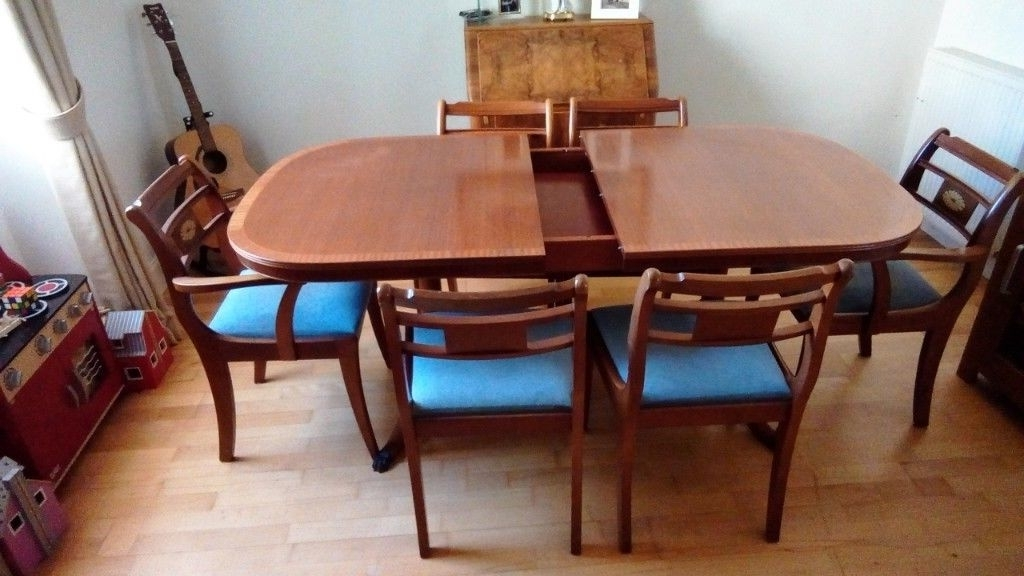 In Inside Preferred Norwood 6 Piece Rectangular Extension Dining Sets With Upholstered Side Chairs (Gallery 12 of 20)