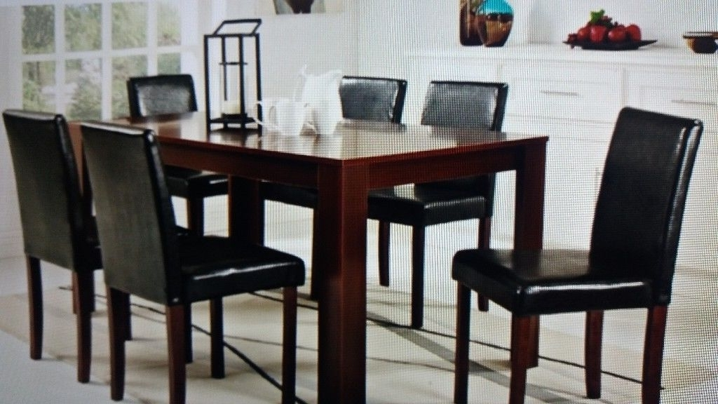 In Intended For Favorite Dark Wood Dining Tables 6 Chairs (Gallery 7 of 20)