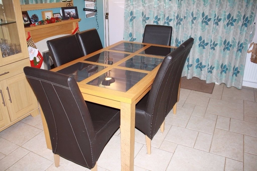 In Lymington, Hampshire With Glass Oak Dining Tables (View 9 of 20)