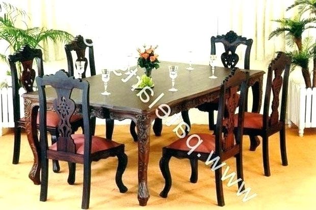 Indian Dining Table Lovable N Tables Inside Most Popular Wood And For Recent Indian Dining Tables (Gallery 16 of 20)