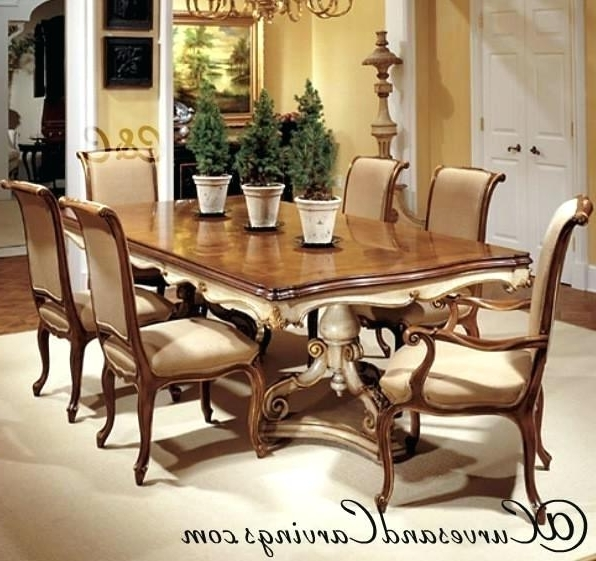 Indian Dining Tables And Chairs With Regard To Well Liked Indian Dining Table Lovable N Tables Inside Most Popular Wood And (View 14 of 20)