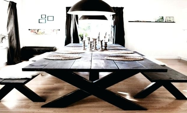 Indoor Picnic Style Dining Tables For Most Recent Indoor Picnic Style Dining Table Latest Home Furnishing Styles Bench (Gallery 20 of 20)
