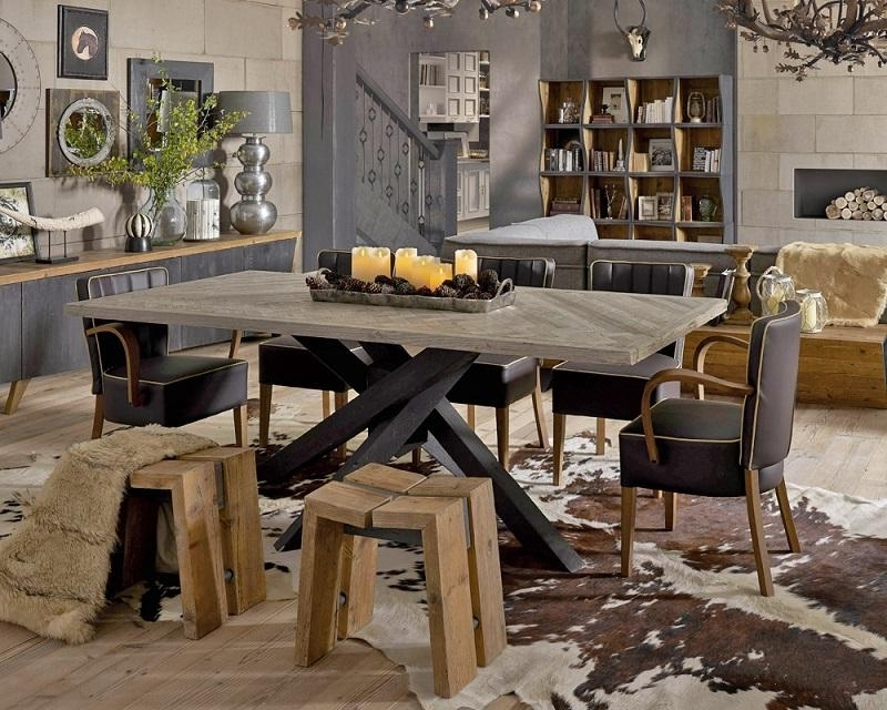 Industrial Furniture Inside Industrial Style Dining Tables (Gallery 16 of 20)