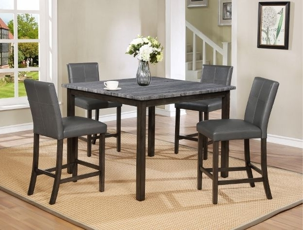 Infini Furnishings Kellie 6 Piece Dining Set Inside Recent Jameson Grey 5 Piece Counter Sets (Gallery 19 of 20)