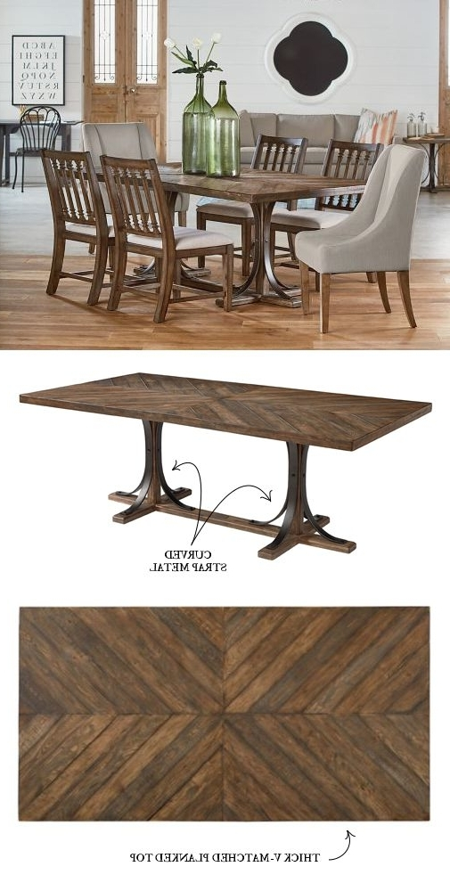 Introducing Magnolia Home Furniture – Part 3 Regarding Well Known Magnolia Home Shop Floor Dining Tables With Iron Trestle (View 5 of 20)