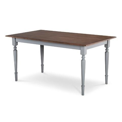 Isabella Brown And Grey Dining Table Intended For Most Up To Date Isabella Dining Tables (View 5 of 20)