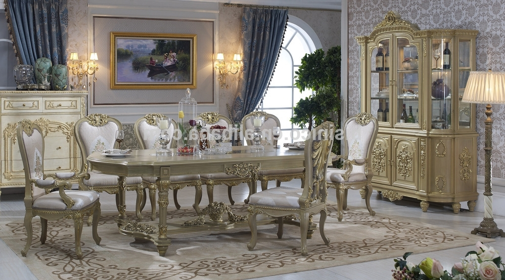 Italian Dining Tables Pertaining To Current Bisini Dining Table,italian Luxury Dining Table,antique European (View 12 of 20)