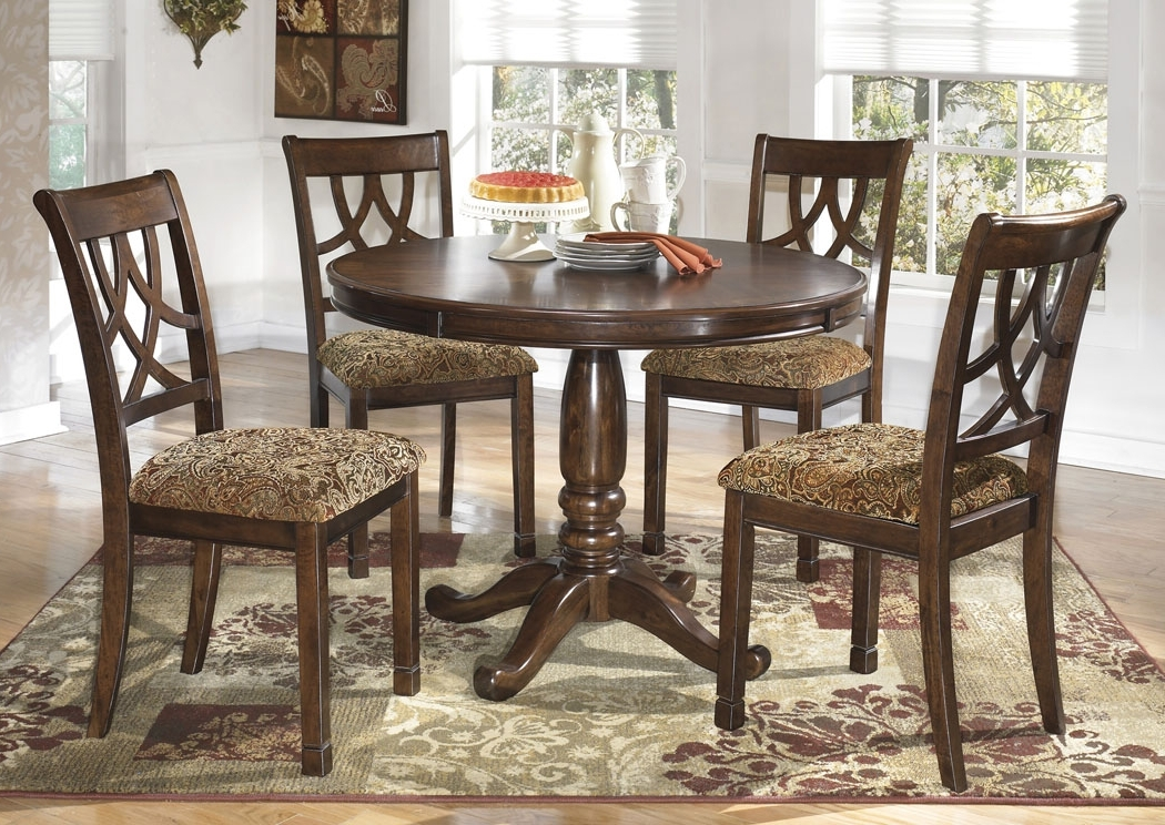 Jaxon 5 Piece Extension Round Dining Sets With Wood Chairs With Most Recently Released S&e Furniture – Murfreesboro & Mount Juliet, Tn Leahlyn Round Dining (Gallery 8 of 20)