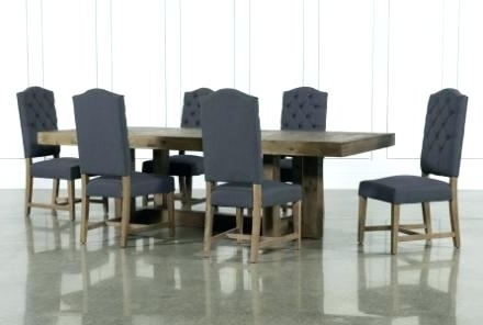 Jaxon Grey Rectangle Extension Dining Tables Regarding Latest Dining Set Living Spaces (View 10 of 20)