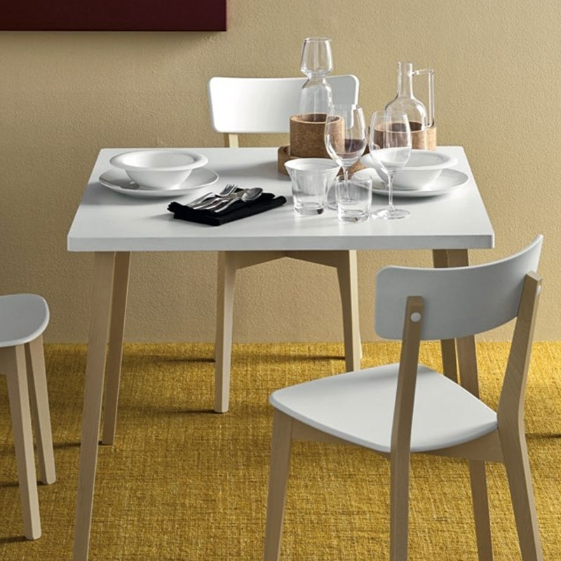 Jelly Tableconnubia Calligaris Inside 2017 White Melamine Dining Tables (View 4 of 20)