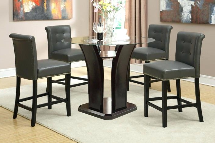 Jensen 5 Piece Counter Sets Inside Famous 5 Pc Counter Height Dining Set Exquisite Porter 7 Piece Reviews On (Gallery 5 of 20)