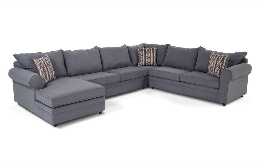 Jobs Oat 2 Piece Sectionals With Left Facing Chaise Intended For 2018 Contemporary Sectional Sofachomel (Gallery 15 of 15)