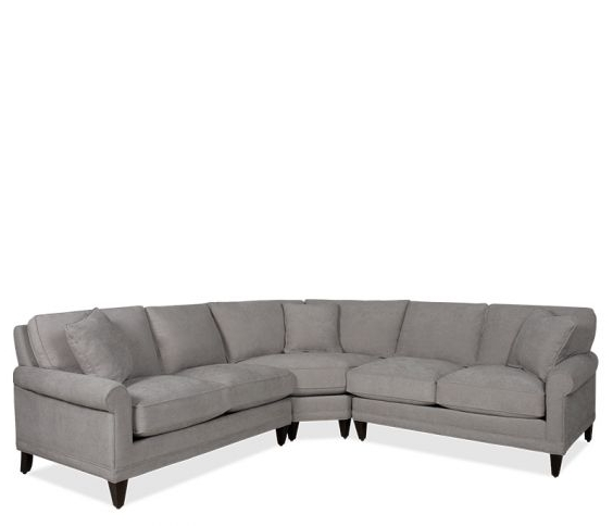 Josephine 2 Piece Sectionals With Laf Sofa Intended For Latest Ashford Roll Arm Sectional In Josie Platinum (View 10 of 15)