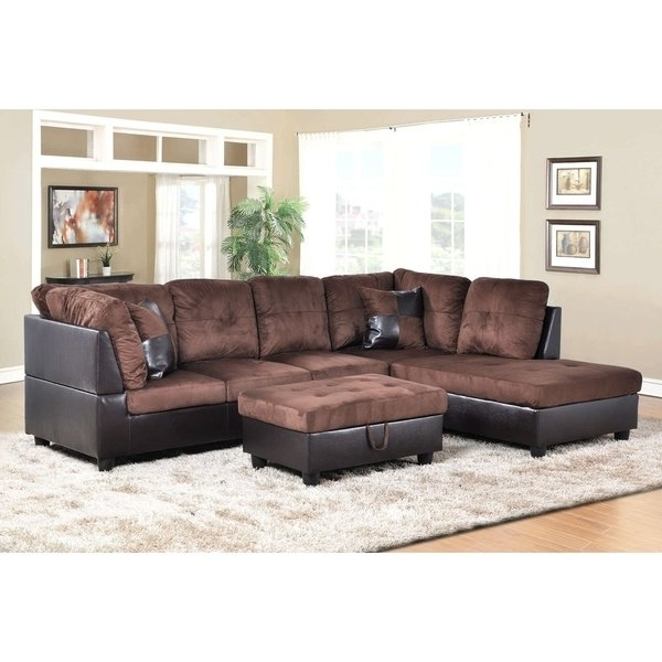 Karen 3 Piece Sectionals Inside Most Up To Date Shop Golden Coast Furniture 3 Piece Microfiber Leather Sofa (View 5 of 15)