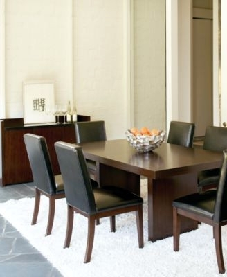 Kelso 9 Pc Dining Set Table 8 Side Chairs – Dining Tables Ideas In Most Current Palazzo 9 Piece Dining Sets With Pearson White Side Chairs (View 8 of 20)
