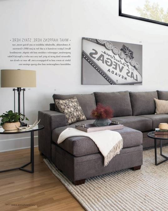 Kerri 2 Piece Sectionals With Raf Chaise Throughout Best And Newest Living Spaces – Spring 2018 – Kerri 2 Piece Sectional W/raf Chaise (View 6 of 15)