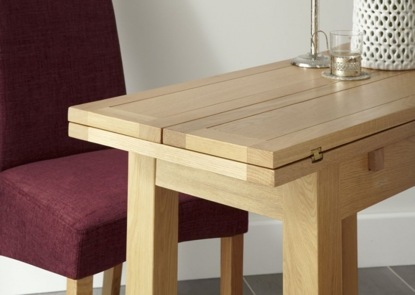 Kirkwall American White Oak Extending Dining Table – Thanet Beds Intended For Recent Oak Dining Tables (View 6 of 20)