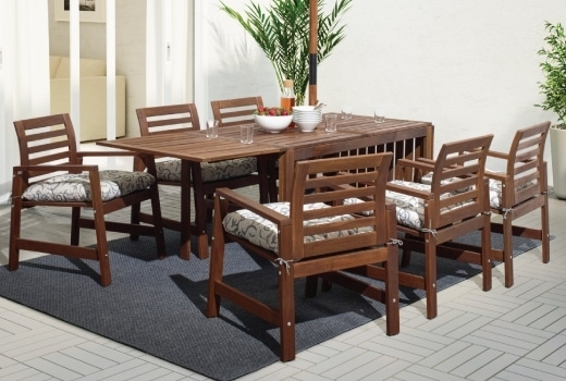 Kitchen Dining Tables And Chairs Inside Fashionable Outdoor Dining Furniture, Dining Chairs & Dining Sets – Ikea (Gallery 19 of 20)