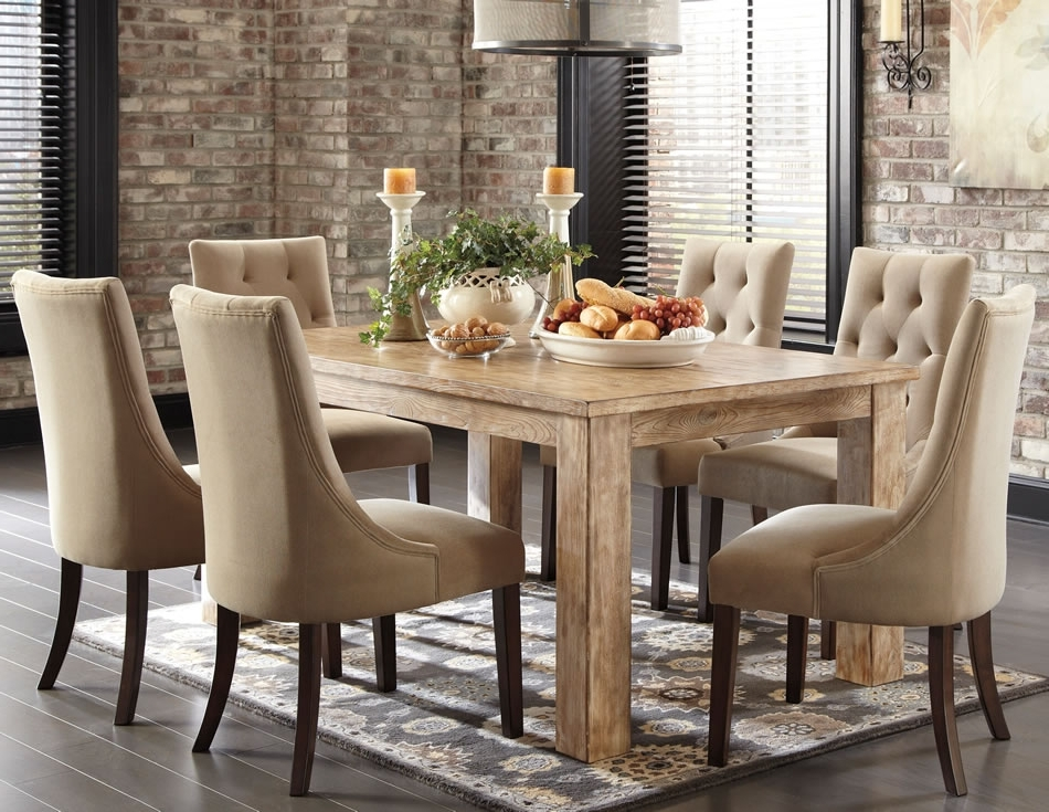 Kitchen Dining Tables And Chairs Throughout 2018 Dining Room Country Rustic Dining Room Sets Rustic Round Kitchen (View 12 of 20)