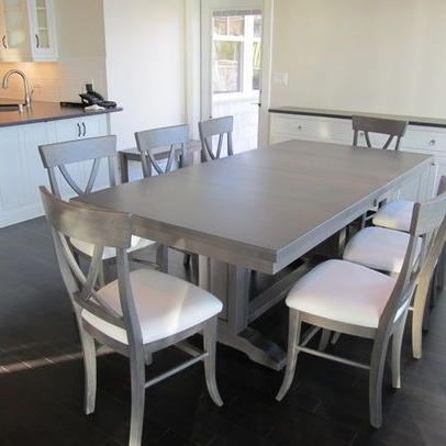 Kitchen / Table Intended For Most Popular Grey Dining Tables (View 11 of 20)