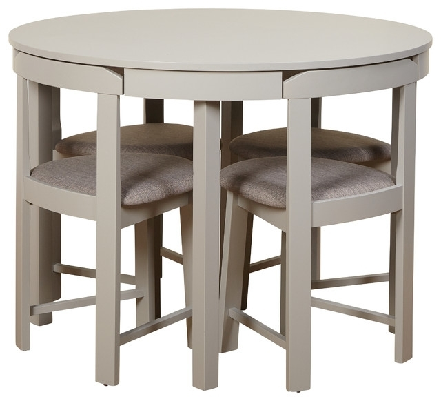 Kizzy Dining Set – Transitional – Dining Sets  Tms Regarding Most Popular Compact Dining Sets (Gallery 3 of 20)