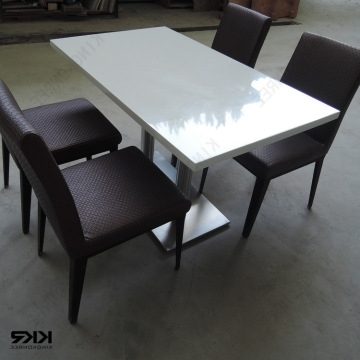 Kkr Dining Table, China Cheap Modern 2 Seater Dining Tables Quartz Pertaining To Most Current Stone Dining Tables (View 6 of 20)