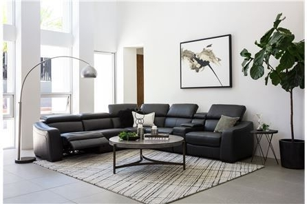 Kristen Silver Grey 6 Piece Power Reclining Sectionals For Favorite Kristen Slate Grey 6 Piece Power Reclining Sectional (Gallery 2 of 15)