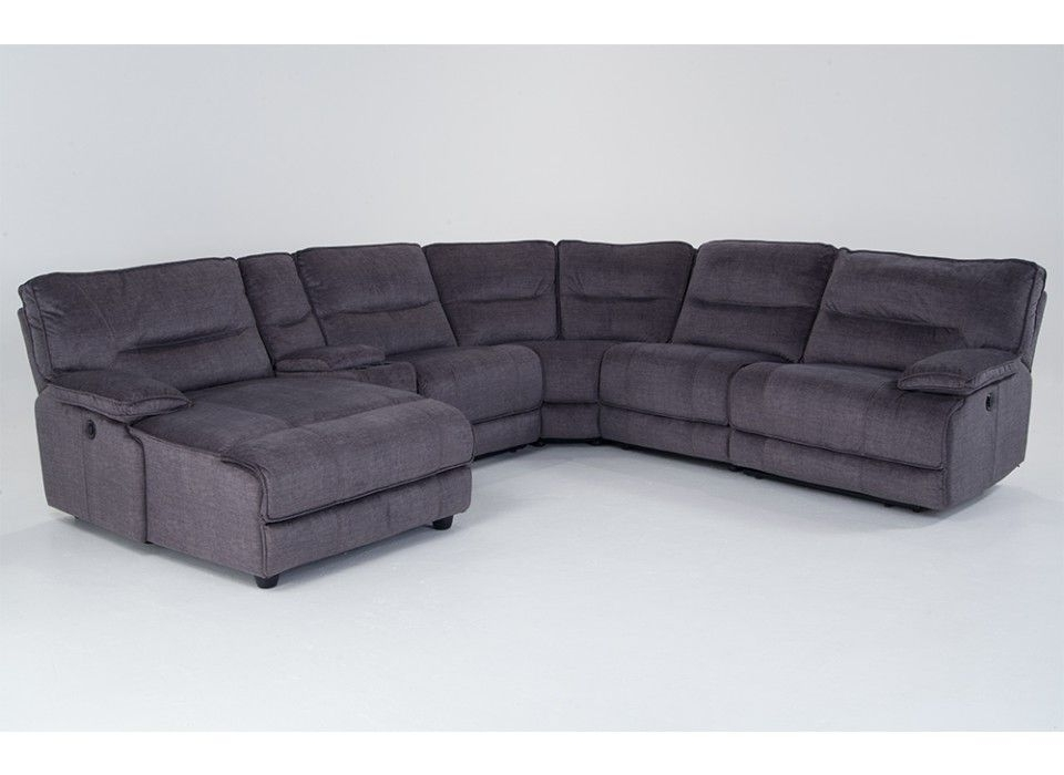 Kristen Silver Grey 6 Piece Power Reclining Sectionals Regarding Best And Newest Fall Into Extreme Comfort With My Pacifica Power Reclining 6 Piece (Gallery 9 of 15)