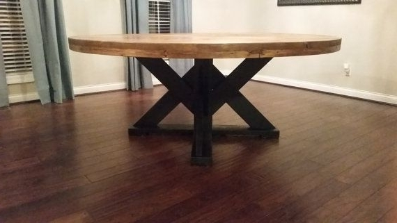 Large Round Dining Table (View 11 of 20)