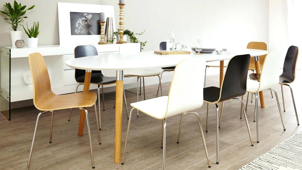 Large Round Extending Dining Table Sets Extendable Set Small Inside Latest White Round Extending Dining Tables (View 5 of 20)