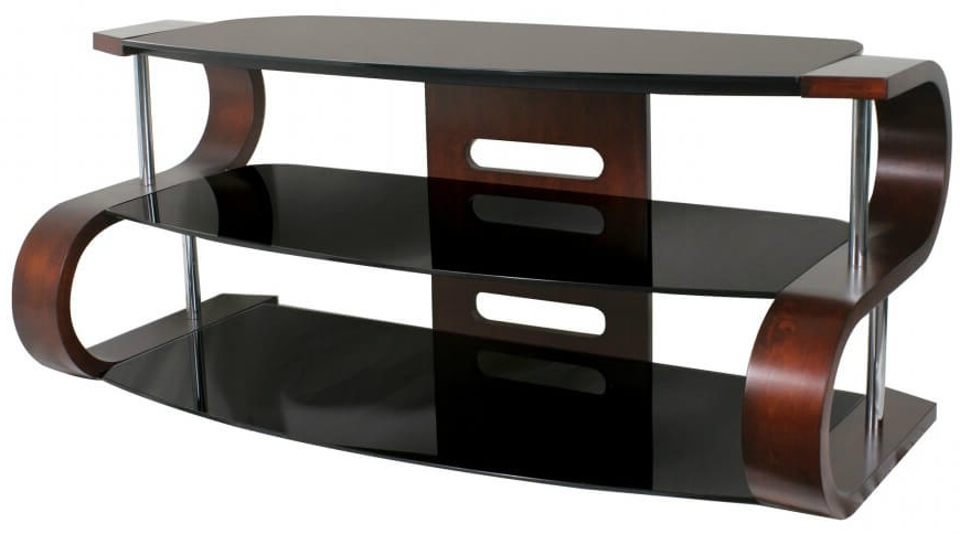 Latest 16 Types Of Tv Stands (comprehensive Buying Guide) In Ina Matte Black 60 Inch Counter Tables With Frosted Glass (View 10 of 20)