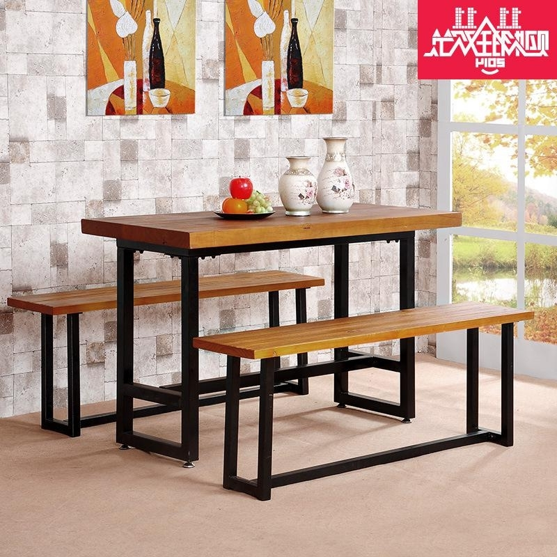 Latest 2018 Cheap Computer Desk Desk Combination Rectangular Dining Table Within Rectangular Dining Tables Sets (View 11 of 20)