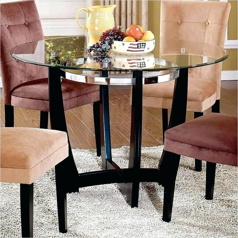 Latest 48 Inch Round Glass Table Top Tables Fresh Dining As Cover – Darog Inside Combs Extension Dining Tables (View 17 of 20)