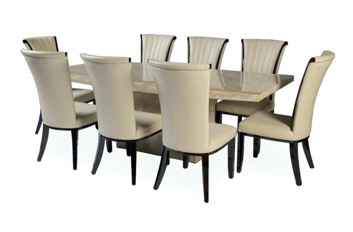 Latest 8 Chairs Dining Tables Throughout Dining Table Set For 8 – Aigdonia (View 15 of 20)
