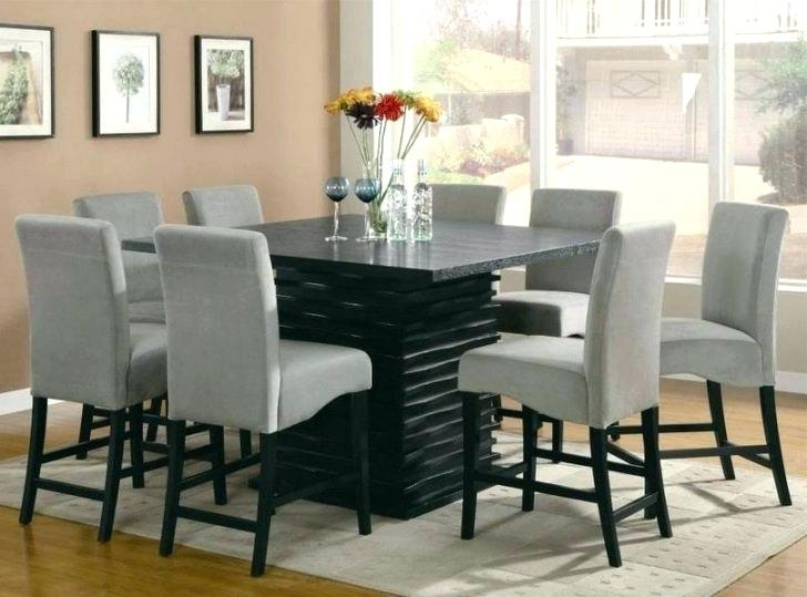 Latest 8 Seat Dining Tables With 8 Seat Dining Table Set Dining Tables Amusing Round Table Sets (View 17 of 20)