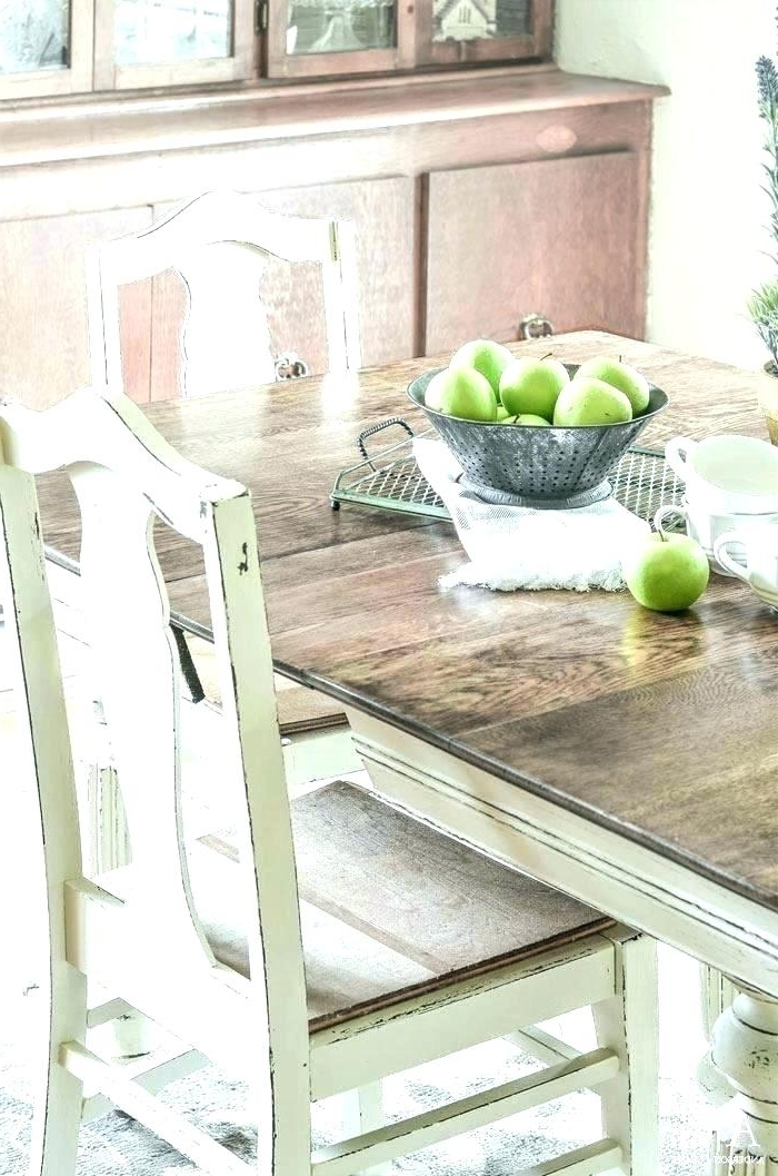Latest Best Paint For Kitchen Table Chalk Paint Kitchen Table And Chairs Intended For Painted Dining Tables (View 4 of 20)