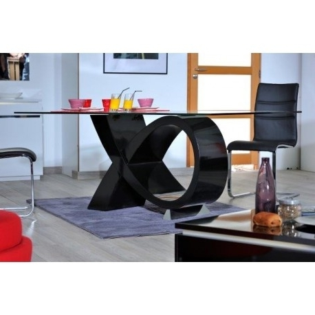 Latest Black High Gloss Dining Tables Intended For Orde Black High Gloss Dining Table – Dining Tables (1337) – Sena (View 10 of 20)