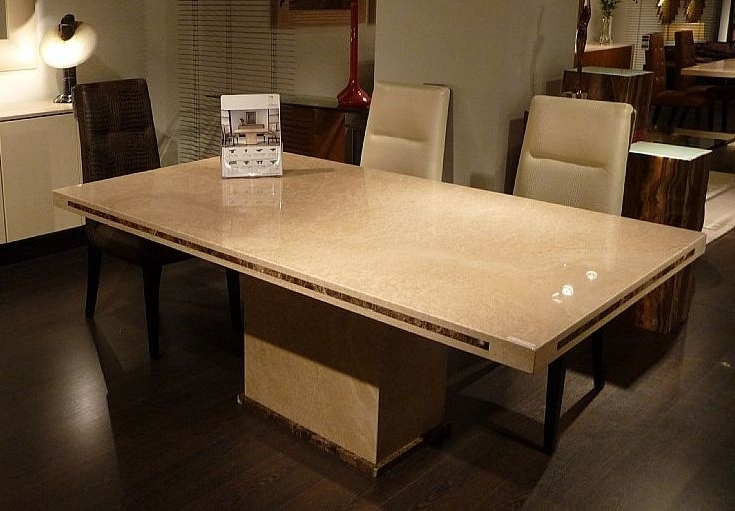 Latest Buy Stone International Paris Marble Dining Table Online – Cfs Uk Regarding Stone Dining Tables (View 7 of 20)