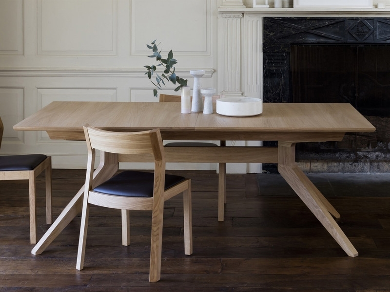 Latest Buy The Case Furniture Cross Extending Dining Table At Nest.co (View 13 of 20)