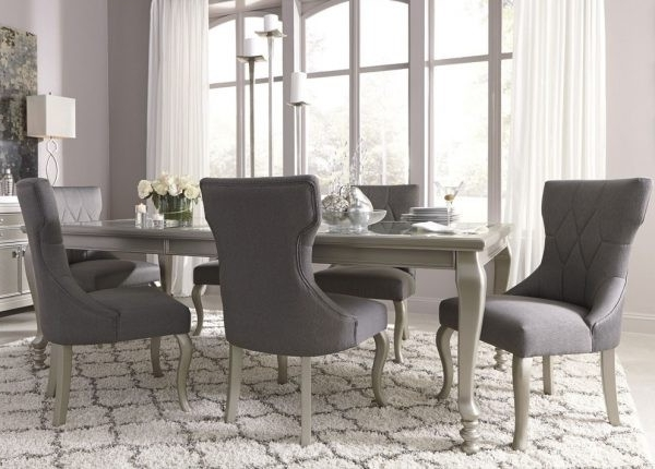 Latest Cora 7 Piece Dining Sets With 20 Elegant Coralayne Dining Set (View 12 of 20)