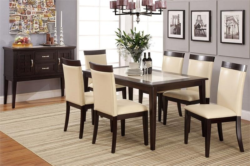 Latest Dining Tables And Chairs Sets Throughout Selecting Designer Dining Table And Chair Set – Blogbeen (View 16 of 20)