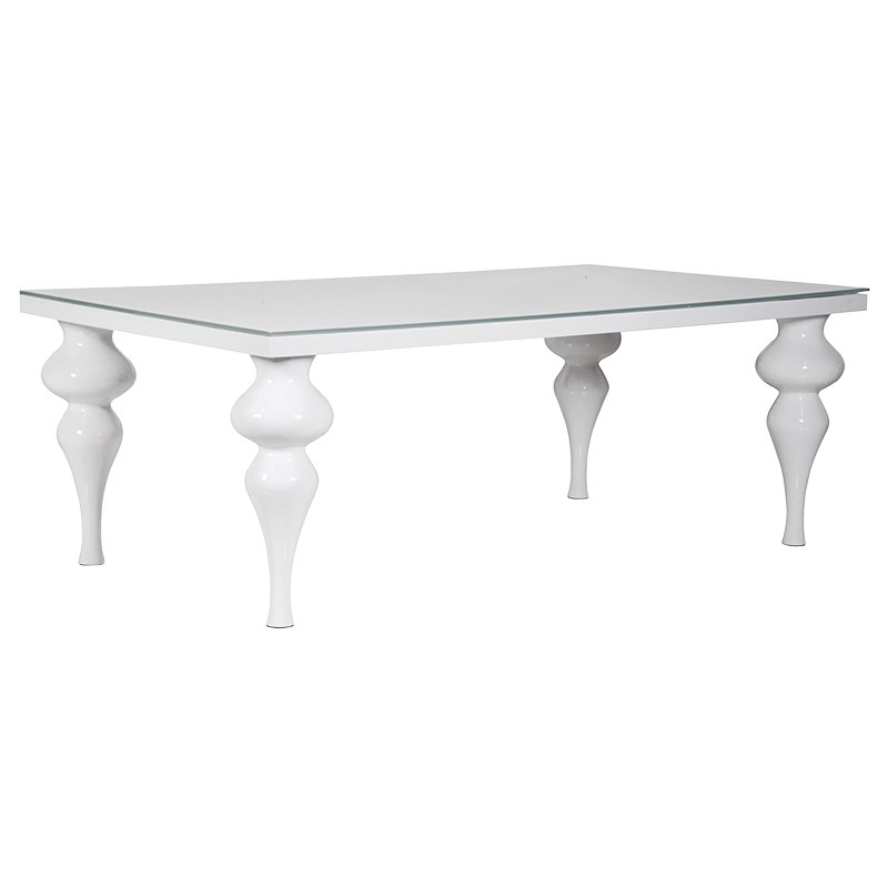 Latest Glass And White Gloss Dining Tables With Regard To White High Gloss Dining Table (View 13 of 20)