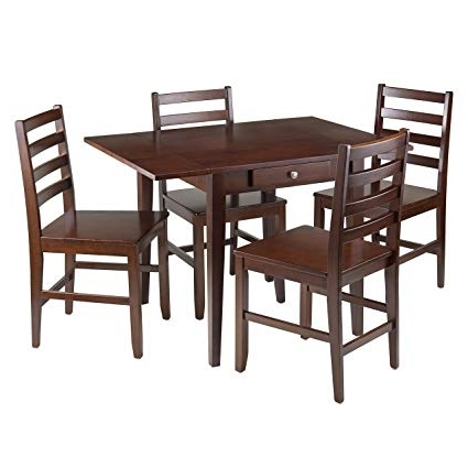 Latest Hamilton Dining Tables In Amazon – Winsome Wood Hamilton 5 Piece Drop Leaf Dining Table (View 11 of 20)