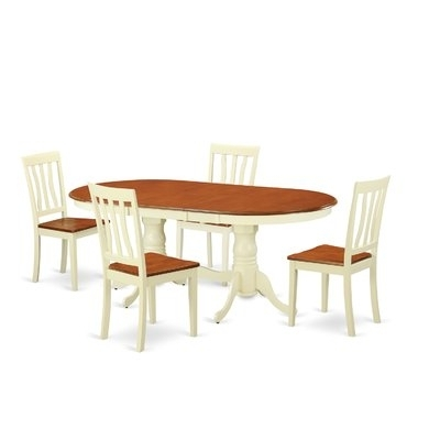 Latest Kirsten 6 Piece Dining Sets Pertaining To Darby Home Co Germantown 5 Piece Dining Set In  (View 11 of 20)