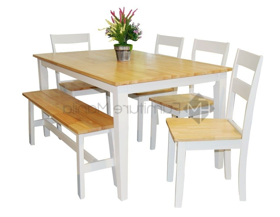 Latest New York Dining Set With Bench (View 7 of 20)